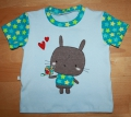 Shirt Gr. 86 - Doddle Stickerei